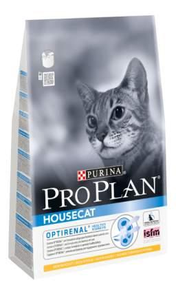 Сухой корм для кошек PRO PLAN Housecat, для домашних, курица, 0,4кг