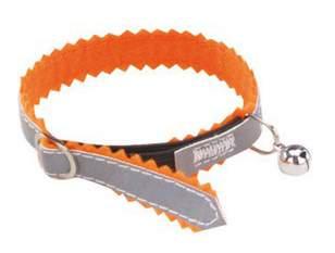 Ошейник для кошек Nobby  78017-04 ЗУБЧИК, оранжевый
