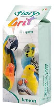 Подстилка в клетку для птиц fiory песочная с лимоном, 1кг