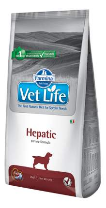 Сухой корм для собак Farmina Vet Life Hepatic, при печеночной недостаточности, рыба, 12кг