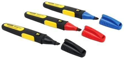 Набор маркеров Stanley FatMax 0-47-315 3шт черный. красный, синий