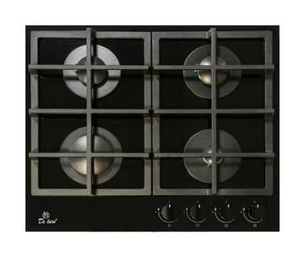 Встраиваемая варочная панель газовая DeLuxe GG4 750229F-060 Black