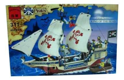 Конструктор пластиковый Brick King of the Seas
