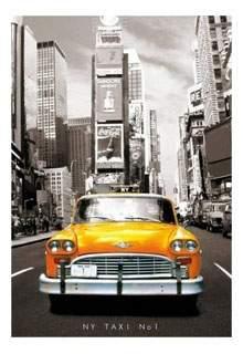 Пазл Educa Такси Нью-Йорк 1000 деталей