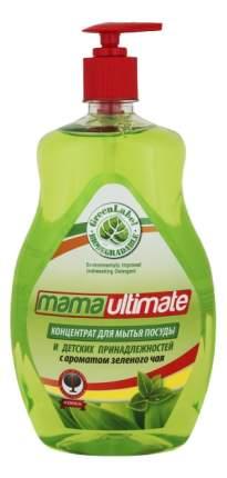 Средство для мытья посуды и детских принадлежностей Mama ultimate зеленый чай 1000 мл