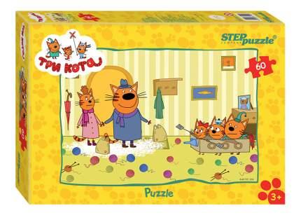 Пазл Step Puzzle Три кота 60 деталей