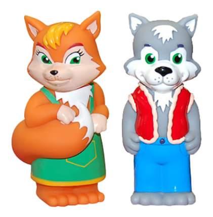 Игровой набор Затейники Лисичка и волк