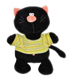 Мягкая игрушка Orange Toys Кот Батон черный 40 см
