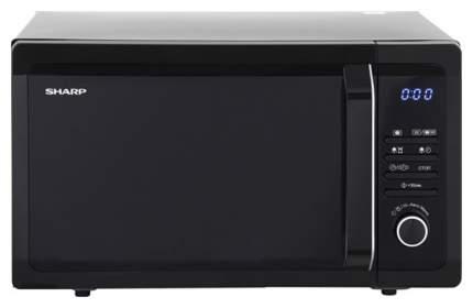 Микроволновая печь с грилем Sharp R-7852RK black