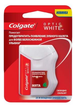 Зубная нить Colgate Optic White 25 м
