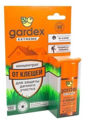 Средство от клещей концентрат Gardex extreme для защиты дачного участка 50 мл