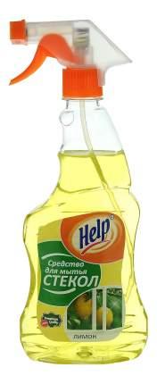 Чистящее средство для стекол и зеркал Help лимон 500 мл