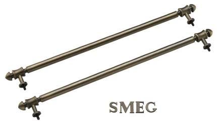 Комплект боковых релингов + логотип для вытяжки Smeg KITKCO-2