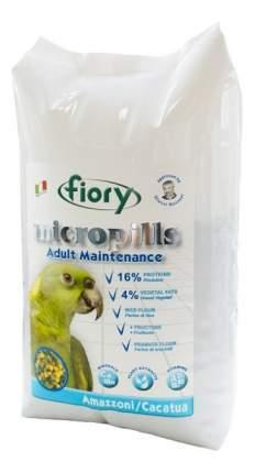 Основной корм FIORY Micropills Amazzoni/Cacatua для попугаев 1400 г, 1 шт