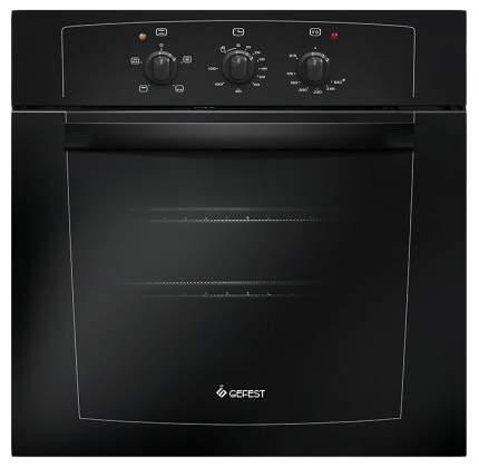 Встраиваемый газовый духовой шкаф GEFEST ДГЭ 601-01 А Black