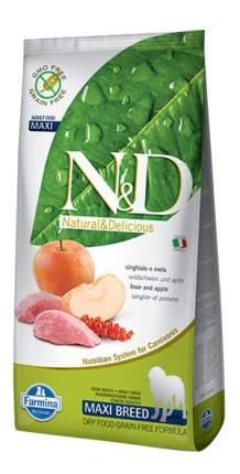Сухой корм для собак Farmina N&D Maxi, для крупных пород, кабан и яблоко, 12кг