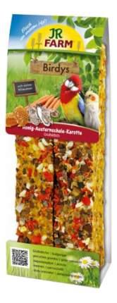 JR Farm Палочки с Мёдом и Раковинами устриц для крупных попугаев, 1шт,