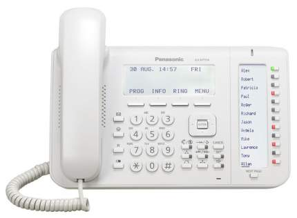 Телефон IP Panasonic KX-NT556RU белый