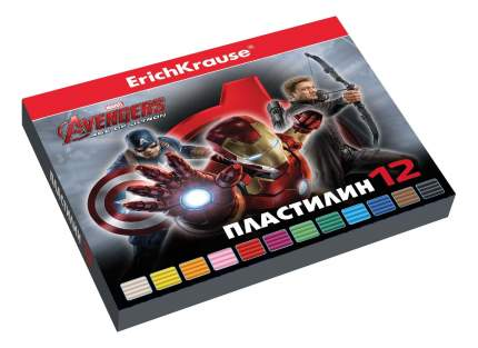Пластилин Erich Krause Avengers: Age of Ultron 12 цветов