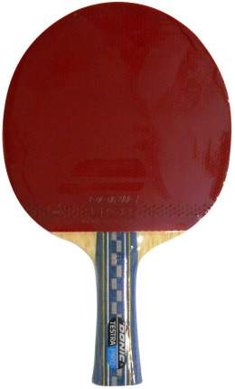 Ракетка для настольного тенниса Donic Testra Pro, красная