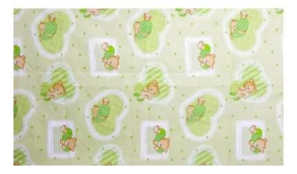 Наволочка на подушку Фея Мишки зеленый