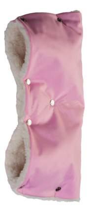 Муфта для рук мамы на детскую коляску Чудо-Чадо Розовый-детский