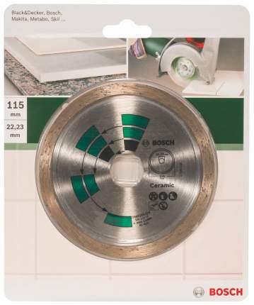 Алмазный диск Bosch КЕРАМ,ПЛИТКА 115 мм DIY 2609256416