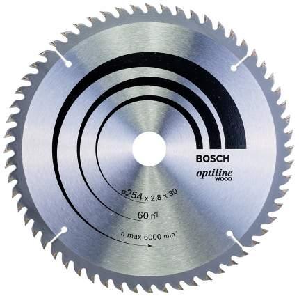 Пильный диск по дереву Bosch STD WO 254x30-60T 2608640444