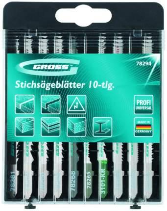 Набор полотен для электролобзика GROSS 78294