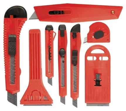 Набор ножей, выдвижные лезвия, 9мм-4, 18мм-2,+скребки выдвижн MATRIX 78991