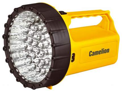 Туристический фонарь Camelion Ultraflash Akku Profi LED29316 желтый/черный, 1 режим