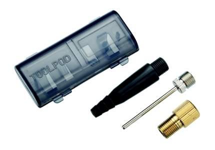 Велосипедная аптечка BBB комплект игл в кейсе BFP-90 valve adapter kit