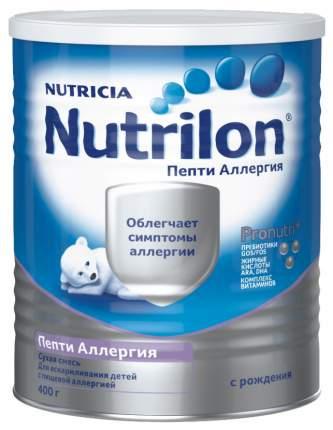 Молочная смесь Nutrilon Пепти Аллергия от 0 до 6 мес. 400 г