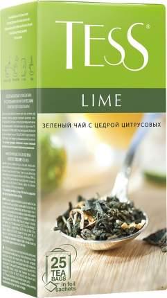 Чай зеленый Tess lime 25 пакетиков
