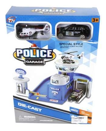 Парковка игрушечная Shantou Gepai Полицейский гараж TH626