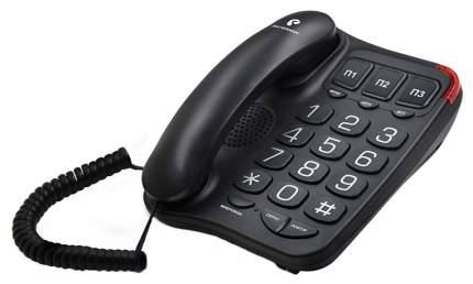 Телефон проводной teXet TX-214 Bl