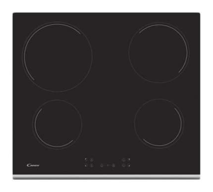 Встраиваемая варочная панель электрическая Candy CH64XB Black