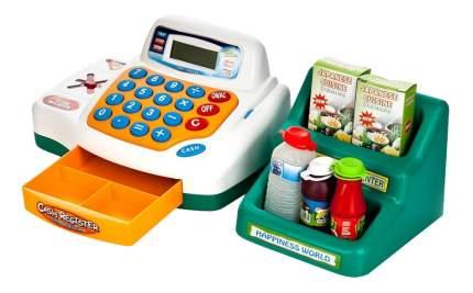 Игровая интерактивная касса cash register мой магазин со светом и звуком Play Smart 7254