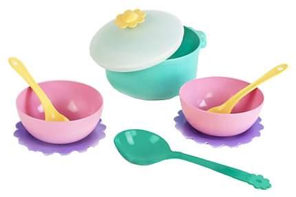 Набор посуды игрушечный Mary Poppins Бабочка для готовки 9 пр в сетке 39321