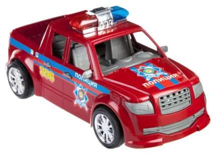 Машина спецслужбы Gratwest Инерционный Джип Police с запасным колесом В81756