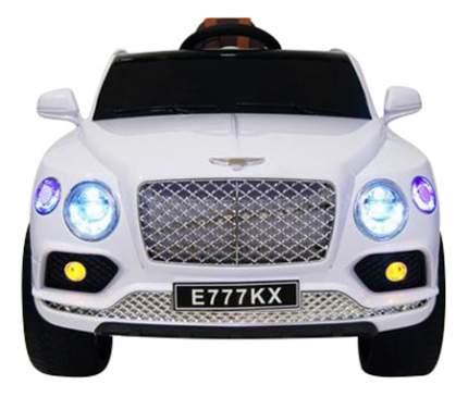 Электромобиль Bentley белый RIVERTOYS