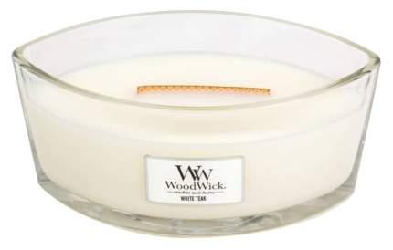 Ароматическая свеча WoodWick Белый тик 76039 Белый