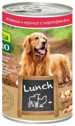 Консервы для собак VitaPRO Lunch, ягненок, курица, картофель, 400г