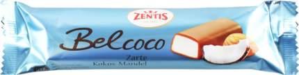 Батончик кокосовый Zentis марципан в молочном шоколаде 60 г