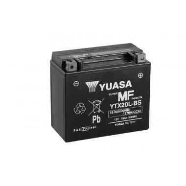 Аккумулятор для мототехники YUASA YTX20L-BS