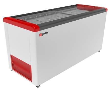 Морозильный ларь Gellar FG 600 C White/Red