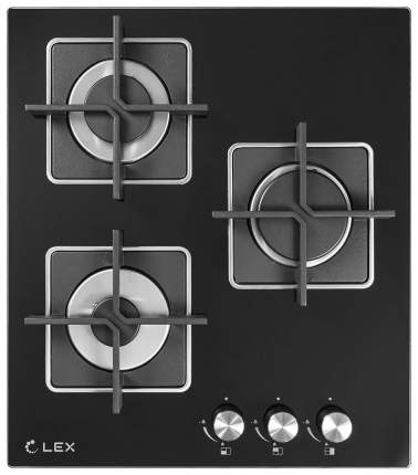 Встраиваемая варочная панель газовая LEX GVG 432 BL Black