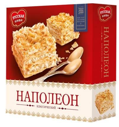 Торт наполеон Русская Нива классический 450 г