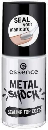 Закрепитель лака для ногтей Essence Metal Shock Sealing Top Coat 8 мл