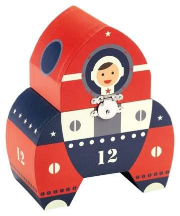 Шкатулка Djeco Космонавт 06606 Красный, синий